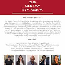 Annual MLK Day Symposium Brings Celebrated Thought Leaders to UHS
